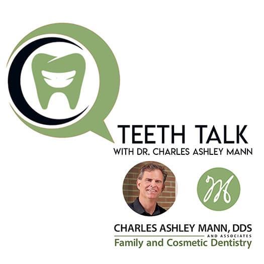 Logo for teeth talk by Dr. Charles Ashley Mann